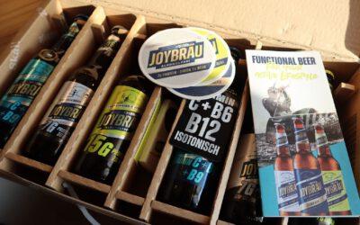 Joybräu – Proteinbier wird zu erstem Functional Sportbier