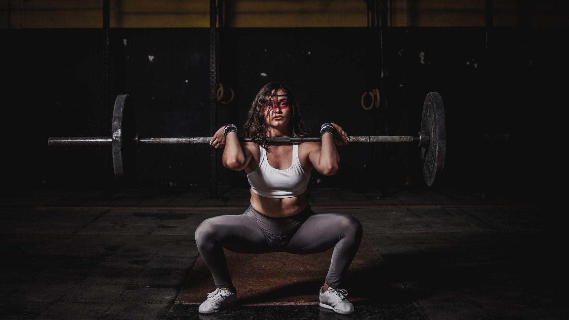 05 Muskelaufbau Frau
