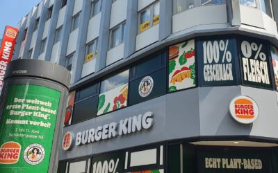 Weltweit erster veganer Burger King in Köln – Was ist denn hier los?!