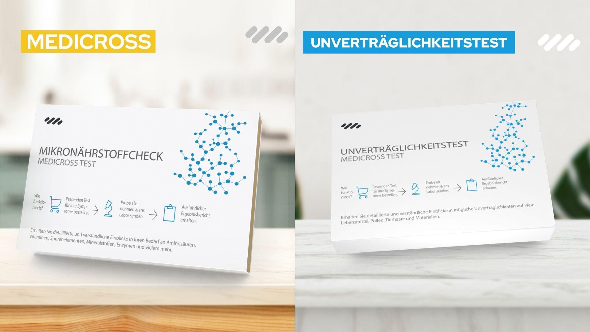 01 Medicross Labs Erfahrung - Unverträglichkeits Test