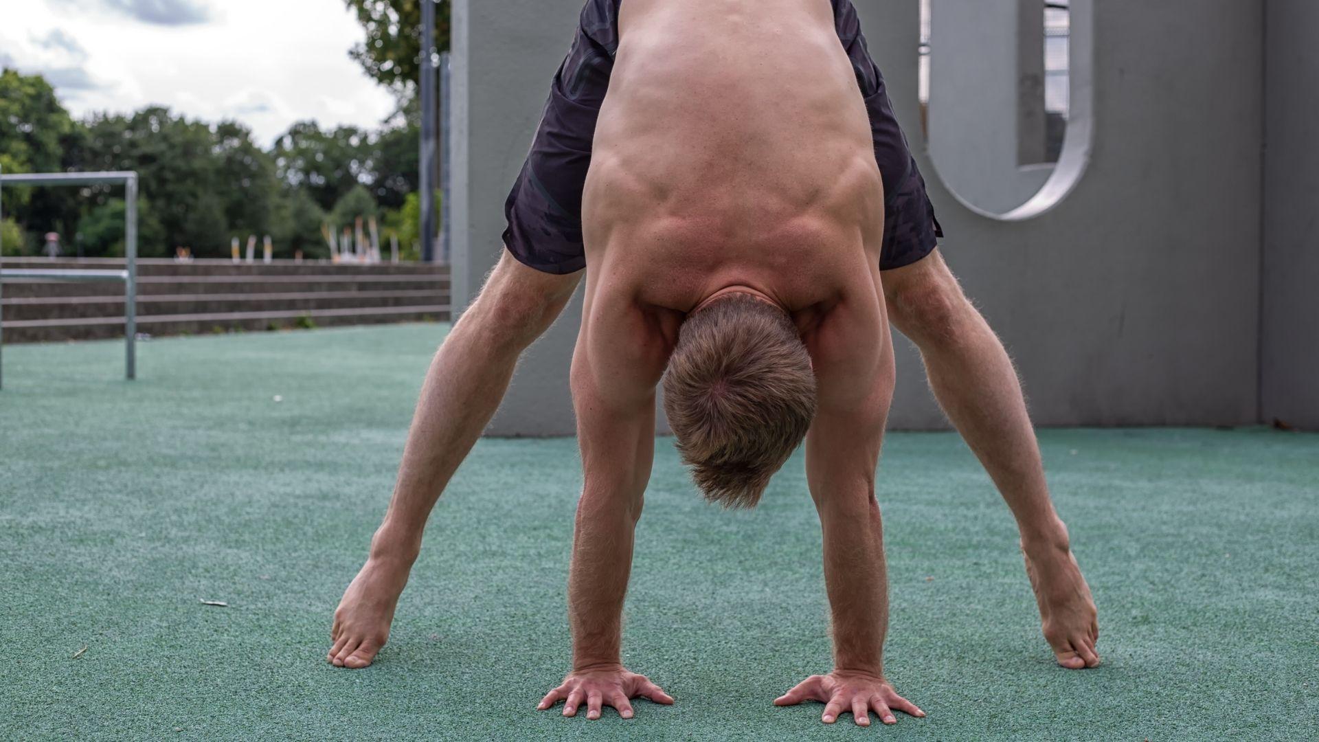 02 Schweizer Handstand stand ohne Schwung lernen