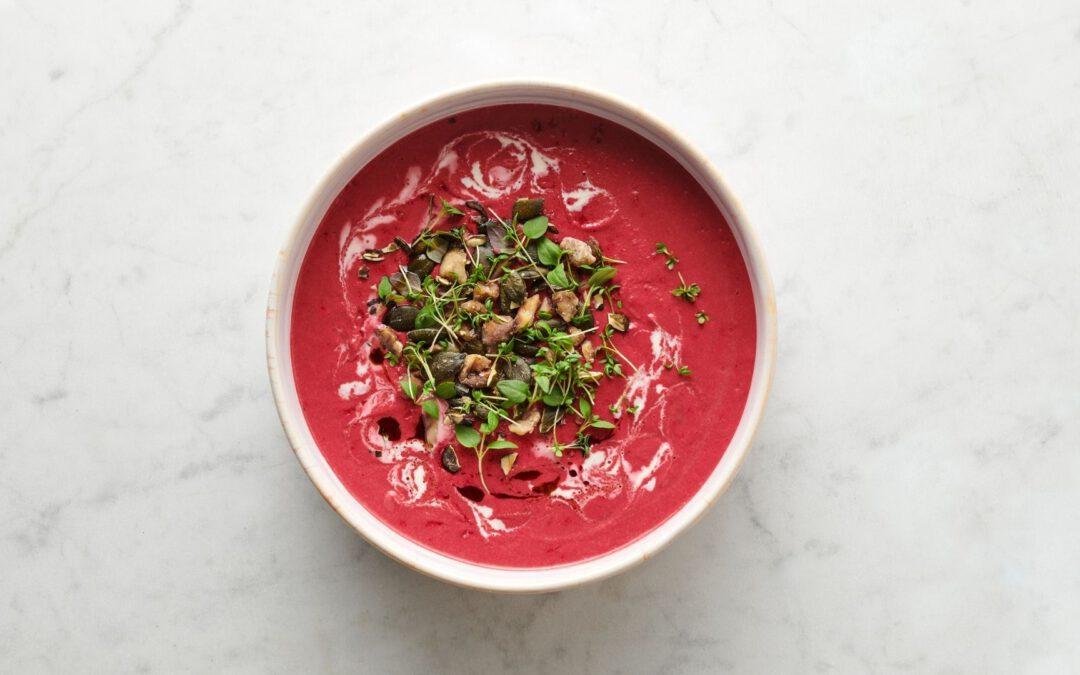Leckere Rote Beete Suppe – Vegetarisch und kalorienarm